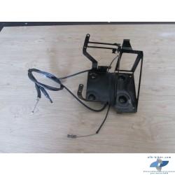 Supports bloc abs et batterie avec tirette et câbles de BMW r 1150 rt / r 850 rt