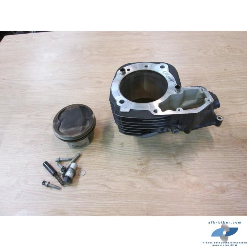 """Cylindre noir """" simple allumage"""" droit et piston pour BMW r 1200 / r 1150"""