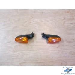 Clignotants orange avant de BMW f 800 et autres modèles
