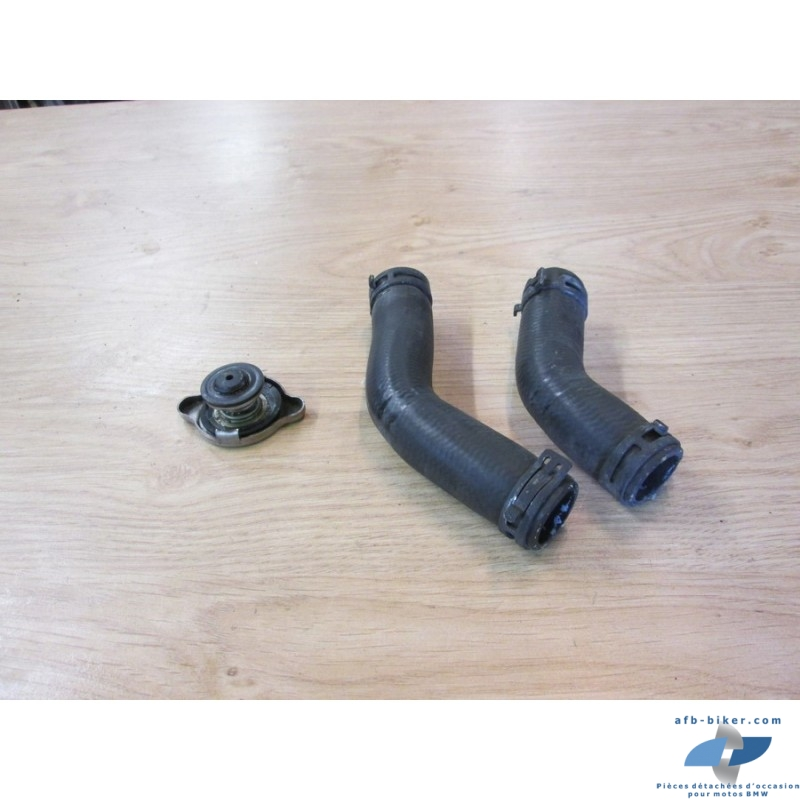 Bouchon et durites de radiateur de BMW f 800 st / s / gt (k71) et f 800 r (k73)