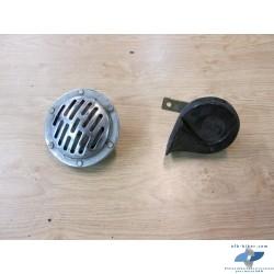 Klaxons de BMW r45 / r65 / r80 et k75 / k100 / k1100