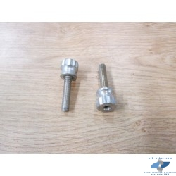 2 Vis M 10 X 45 mm de fixation de protèges carters de BMW k 100 / k 75