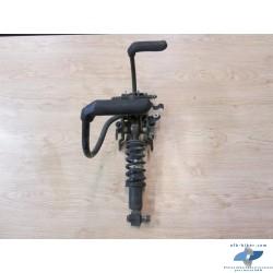 Mécanisme levier genoux + dispositif d'arrêt + amortisseur Avant en bon état.