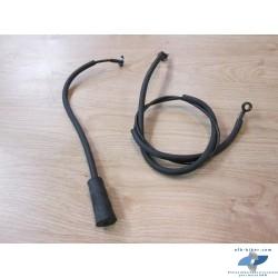 Conduites émetteur - récepteur - ventilation embrayage de BMW k 1200 rs / gt