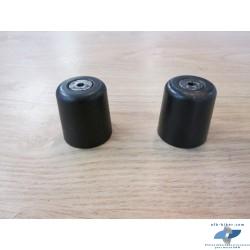 Masselottes noires de guidon de BMW r 1150 r / rockster - r 850 r / rt - r 1150 gs ...