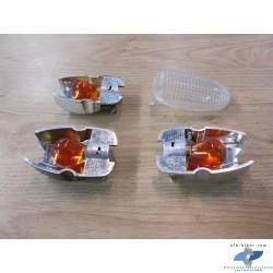 Supports d'ampoules complet + verre blanc de BMW r 1150 r / gs / gsadv - r 1200 c / Montauk / Indépendant....