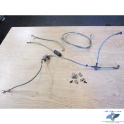 """Durites """" type aviation"""" de circuits de frein et embrayage de BMW r 1150 r / r 850 r"""