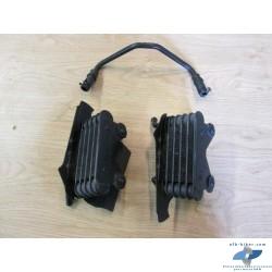 Radiateurs D et G d'huile de refroidissement de BMW r 1150 r / rockster - r 850 r
