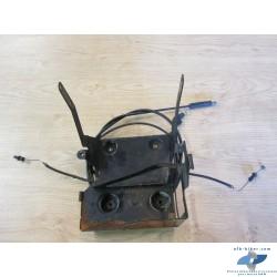 Supports batterie avec palonnier de câbles de BMW r 1100 rt / r 850 rt (à boite 5 vitesses)