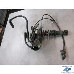 Mécanisme levier genoux avec câble + disp. d'arrêt + amortisseur AV de BMW C1