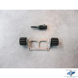 Plaque réglage de selle et sonde de T° de l'air aspiré BMW k 1600 gt / gtl
