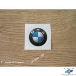 Autocollant rond BMW Diamètre 34mm