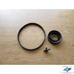 Poulie et rotor + courroie d'alternateur et de BMW r 1150 / r 1100 / r 850