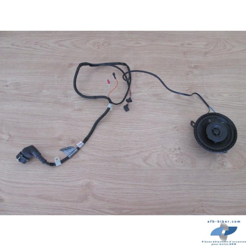 Haut parleur et faisceau électrique de top case d'origine BMW k 1100 lt
