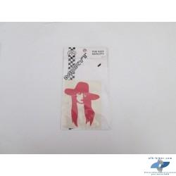 """Autocollant """"La Dame au chapeau rouge"""""""