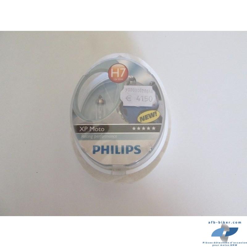 L'ampoule philips h4 12 v et 55 w est neuve, elle est vendue dans sa boite d' origine.