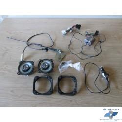 Antenne,haut parleurs,faisceau et accessoires de BMW...
