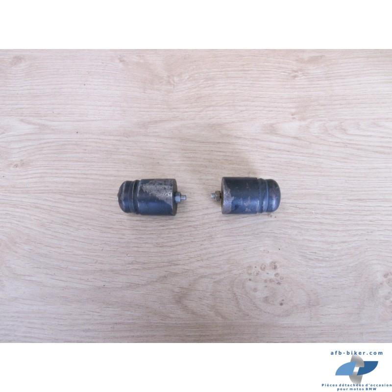 Masselottes de guidons de BMW F 650 Funduro et Strada