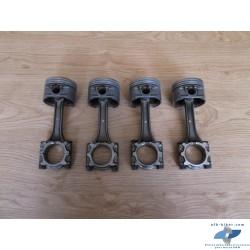 Ensemble de quatres bielles et pistons de BMW K1100LT/RS
