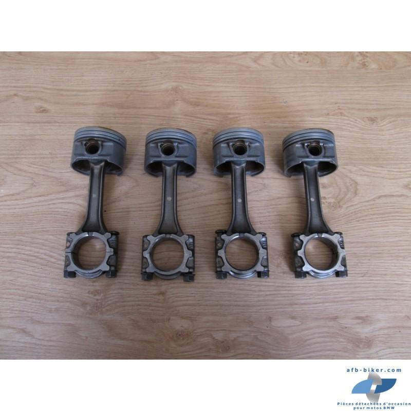 Ensemble de quatre bielles et pistons de BMW K 1100 LT / RS