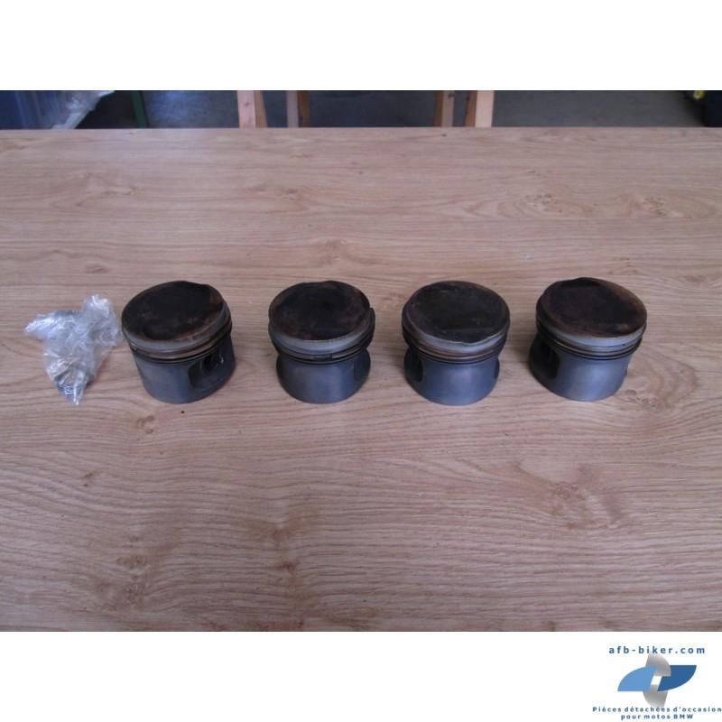 Quatre pistons de BMW K 100 base / rt / lt / rs produites avant 02/1988