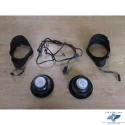 Hauts parleurs de tableau de bord de BMW k 1200 lt