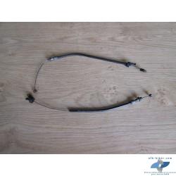 Câbles D et G de commandes des papillons de BMW r1100