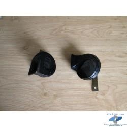 Duo de klaxons de BMW k 75 rt / k 100 rt / rs / lt / k 1100 lt / rs